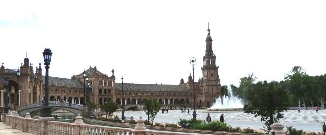 Séville. Place d'Espagne